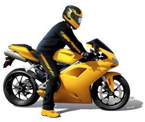 kombineson motocyklowy + motocykl